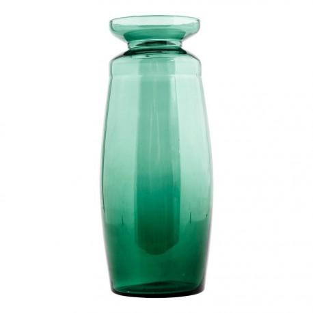 Vase en verre vert House Doctor All