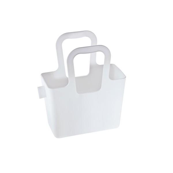 petit panier rangement blanc koziol taschelini. Black Bedroom Furniture Sets. Home Design Ideas