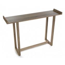Console d'entrée design épuré en bois Versa Elgin