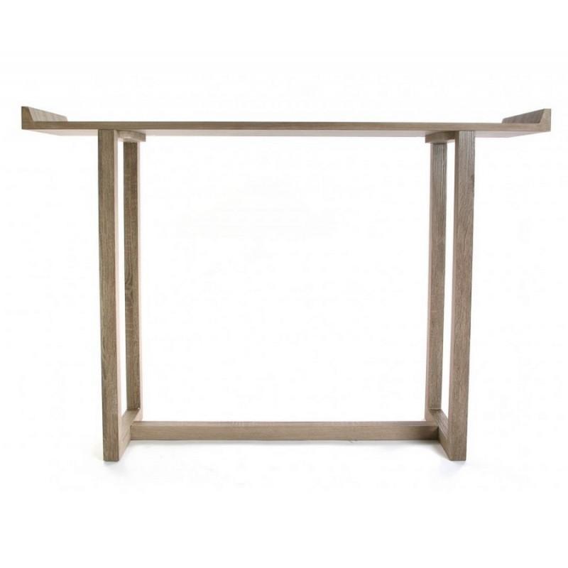 console d entree design epure en bois versa elgin. Black Bedroom Furniture Sets. Home Design Ideas