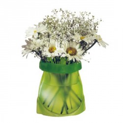Trendform Le Sack PVC Vase frosty green