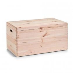 Coffre de rangement en bois Zeller 24 x 40 x 60 cm