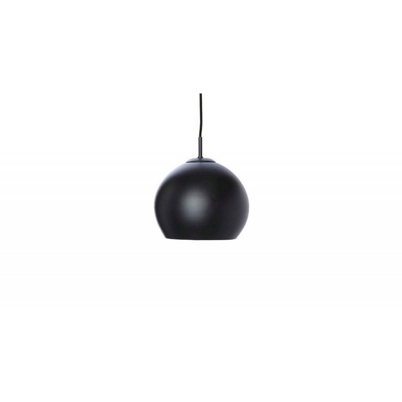 suspension design boule noir mat frandsen ball d 25 cm. Black Bedroom Furniture Sets. Home Design Ideas