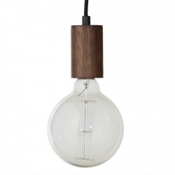 Suspension design ampoule bois noyer Frandsen Bristol