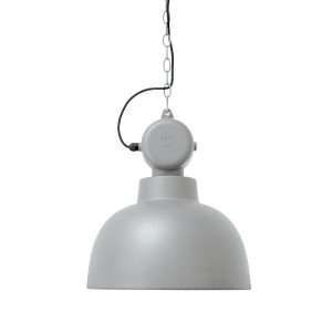hk living lampe suspension factory gris clair mat D 40 cm
