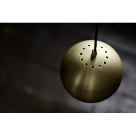 Suspension design laiton vieilli mat frandsen ball D 18 cm
