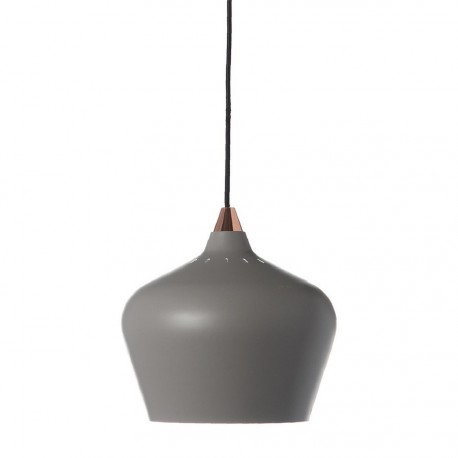 frandsen cohen eve suspension gris mat D 16 cm