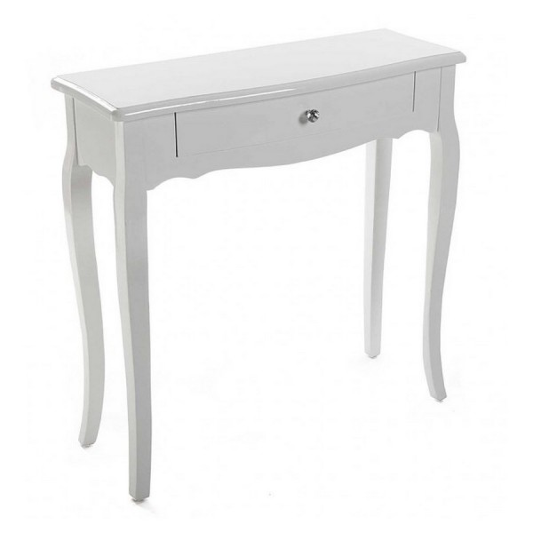 console d entree style classique bois blanc versa. Black Bedroom Furniture Sets. Home Design Ideas