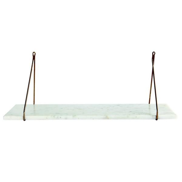 tablette en marbre blanc pour etagere house doctor sa0900. Black Bedroom Furniture Sets. Home Design Ideas