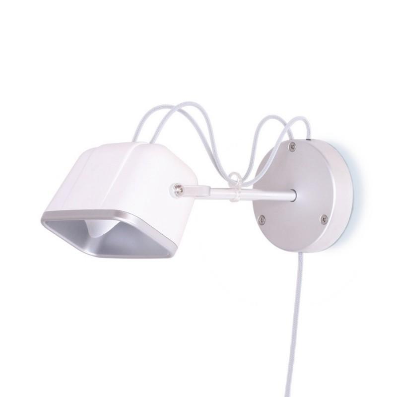 swabdesign mob applique murale blanche aluminium mob 14bc. Black Bedroom Furniture Sets. Home Design Ideas