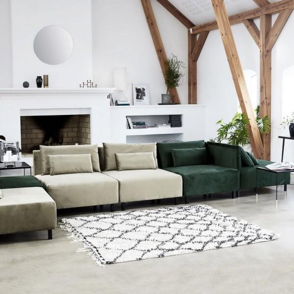 house doctor tapis scandinave zena rm0010 180x180. Black Bedroom Furniture Sets. Home Design Ideas