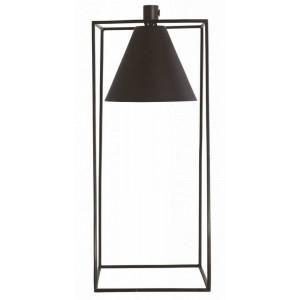 house doctor kubix lampe de table vintage metal noir Cb0690
