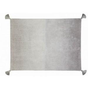 tapis en coton degrade gris lavable en machine lorena canals 120 x 160 cm