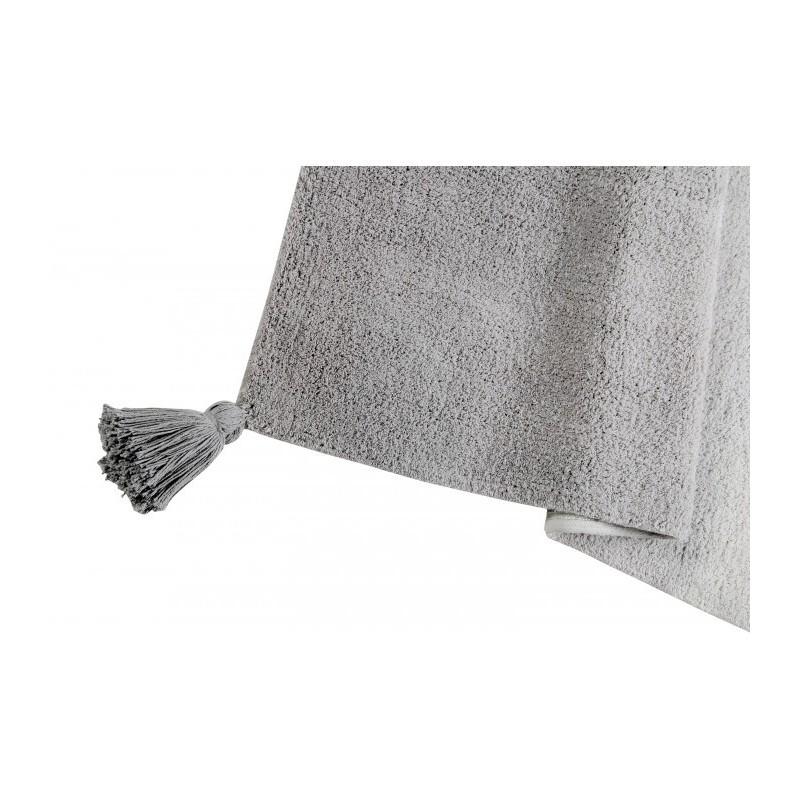 tapis en coton degrade gris lavable en machine lorena. Black Bedroom Furniture Sets. Home Design Ideas