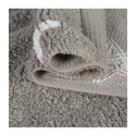 tapis chambre enfant gris etoiles blanches coton lorena canals 120 x 160 cm