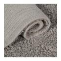 tapis enfant rectangulaire gris points blancs lorena canals 120 x 160 cm