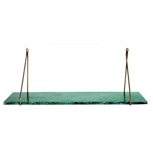 Tablette pour étagère marbre vert House Doctor