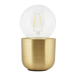 Lampe de table laiton House Doctor Gleam