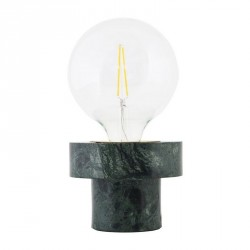 Lampe de table marbre vert House Doctor Pin
