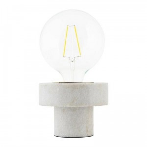 lampe de table marbre blanc house doctor pin Cl0951