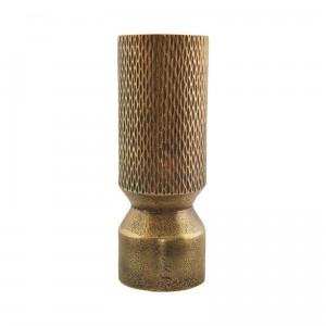 house doctor cast vase dore aluminium h 18 cm