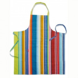 Tablier cuisine original remember color stripes