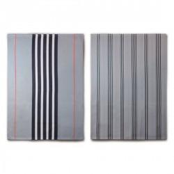 Remember TR06 Tea Towel grey (set of 2)