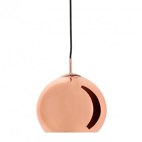 Suspension boule cuivre brillant Frandsen Ball D 25 cm