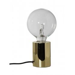 Lampe de table minimaliste métal doré Frandsen Bristol