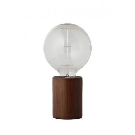 Lampe à poser minimaliste bois de noyer Frandsen Bristol