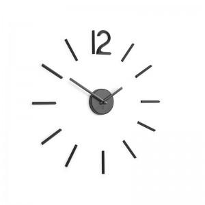 horloge murale noire umbra blink 1005400-040