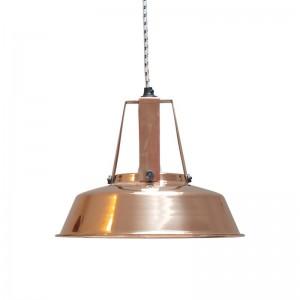 hk living workshop suspension atelier industriel cuivre brillant