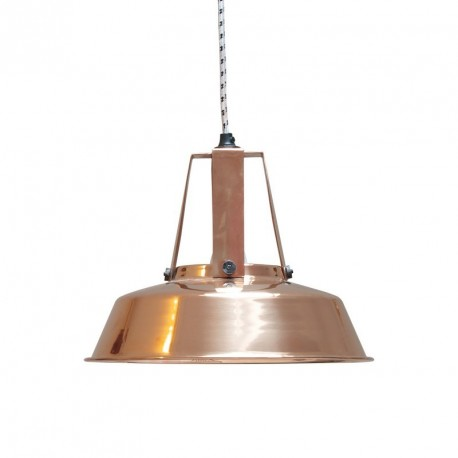 Suspension atelier industriel cuivre brillant HK Living Workshop