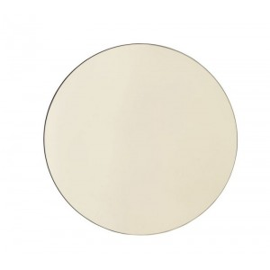house doctor walls Sc0300 miroir mural rond or d 50 cm