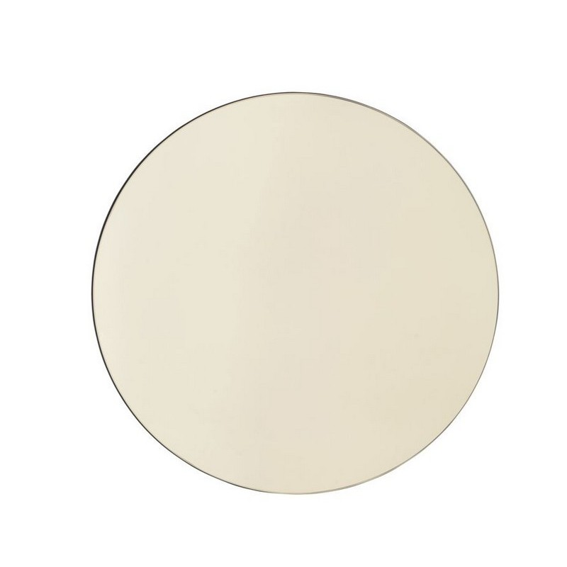 House doctor walls sc0300 miroir mural rond or d 50 cm for Miroir 50 cm