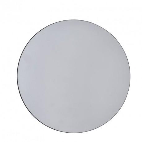 miroir rond epure gris d 50 cm house doctor walls sc0302. Black Bedroom Furniture Sets. Home Design Ideas