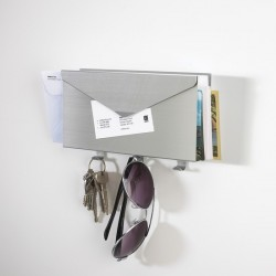 Umbra Lettro Letter And Key Wall Organizer Aluminum
