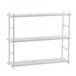 Etagère à poser House Doctor Simple métal gris 3 niveaux