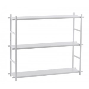 etagere a poser house doctor simple metal gris Pj0051