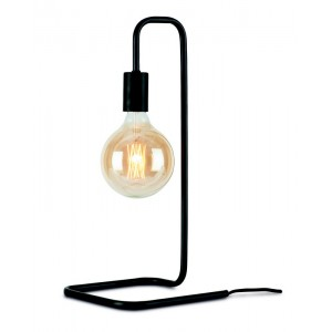 lampe de table design epure metal noir it s about romi london