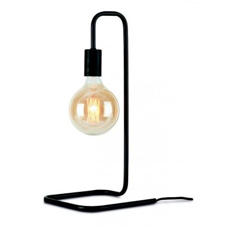 lampe de table design epure metal noir it s about romi london