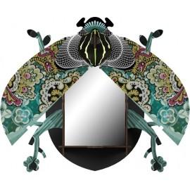 Miroir mural Miho scarabée décoratif Charlie