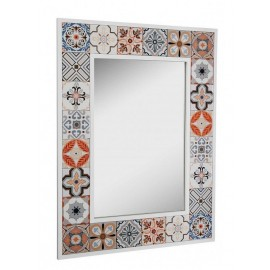 miroir decoratif carreaux ceramique style oriental versa marrakech