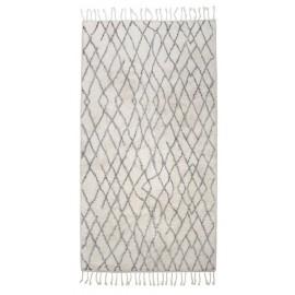 tapis antiderapant deco scandinave coton hk living 90 x 175 cm