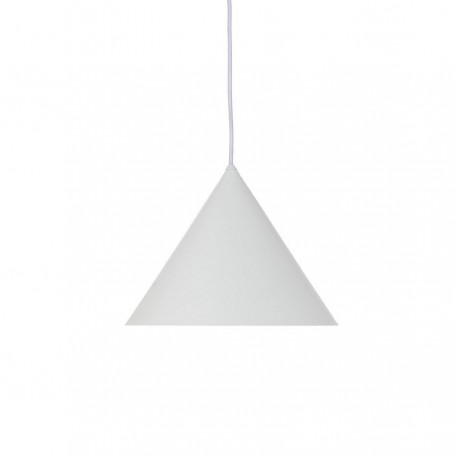 Suspension blanche conique métal design Frandsen Benjamin