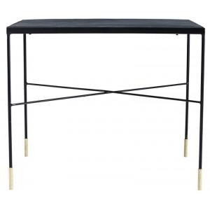 table basse carree industrielle acier vintage house doctor ox