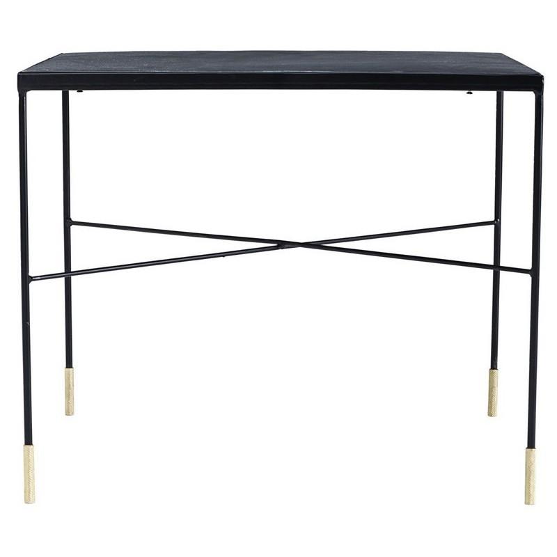 table basse carree industrielle acier vintage house doctor ox. Black Bedroom Furniture Sets. Home Design Ideas