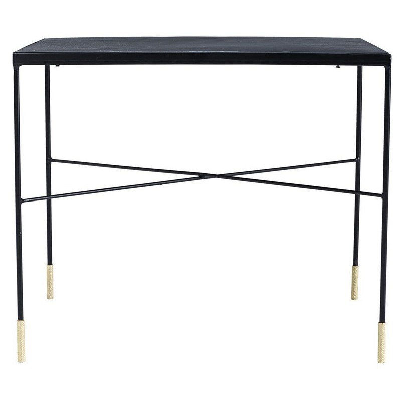 Table basse carree industrielle acier vintage house doctor ox - Table basse carree industrielle ...