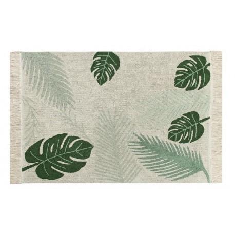 Tapis végétal lavable Tropical Green Lorena Canals 140 x 200 cm