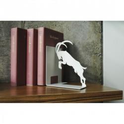 Serre-livres design blanc pulpo stubborn goat